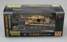 1:72 	 Tiger I (late production) Schwere SS Pz.Abt.102, 1944,Normandy , Tiger 242 - 36221