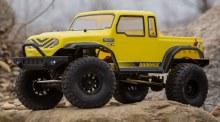1:12 Barrage Gen2 1.55 4WD Scaler Brushed RTR: Yellow - ECX01013IT2