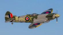 Spitfire MkXIV 1.2m Plane BNF Basic - EFL8650