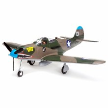 P-39 Airacobra 1.2m BNF Basic with AS3X and SAFE Select - EFL9150