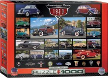 American Cars of the 1930's 1000pc - EUR60674
