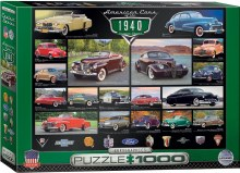 American Cars of the 1940's 1000pc - EUR60675