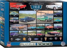 American Cars of the 1950's 1000pcs - 60676