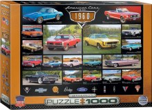 American Cars of the 1960's 1000pc - EUR60677