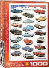 American Cars Of The Fifties 1000pcs - 63870