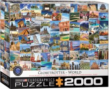 Globetrotter - World 2000pcs - 65480