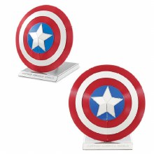 Avengers Captain America's Shield 3D Metal Kit