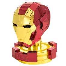 Avengers Ironman Man Helmet 3D Metal Kit