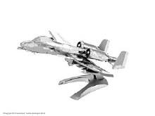 A-10 Warthog 3D Metal Kit