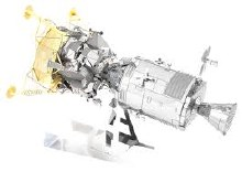 Apollo Command Service Module 3D Metal Kit