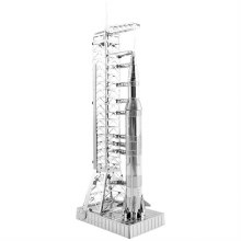 Apollo Saturn V With Gantry 3D Metal Kit