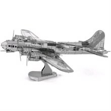 B-17 Flying Fortress 3D Metal Kit