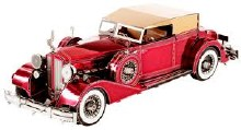 1934 Packard Twelve Convertible 3D Metal Kit