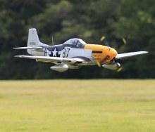 1450mm North American P-51D Ferocious Frankie (Ver.8) PNP -  FMS008P-FF
