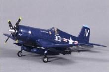 F4U 800mm Corsair Royal Blue (V2) PNP - FMS022P-REF