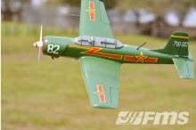 CJ-6 1200mm Green PNP - FMS085P