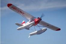 1400mm Piper J3 Cub w/ Floats PNP - FMS106P