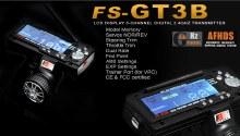 2.4GHz 3ch Digital Proportional Transmitter + Receiver - FS-GT3B