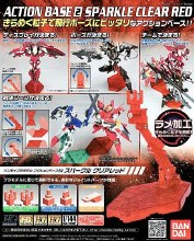 Action Base 2 Sparkle Clear Red - 5057603
