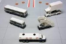 1:200 Scale Airport Service Vehicles Set 5pcs - G2APS450