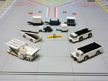 1:200 Scale Airport Service Equipment Set 10pcs - G2APS451