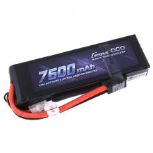7600mAh 7.4v  2S 50c LiPo w/ Traxxas Plug - GA2T-7600-50C