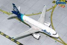 1:400 Scale Airbus A319 Alaska Airlines N530VA - GJASA1851