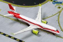 1:400 Scale Airbus A220-300 Air Baltic Latvia 100 Livery YL-CSL - GJBTI1839