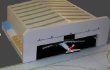 1:400 Scale Widebody Aircraft Hanger - GJWBHGR2