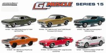 1:64 Scale Muscle Series 15 Assortment - 13150