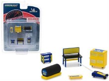 1:64 Scale Michelin Tyres Muscle Shop Tools - 13161