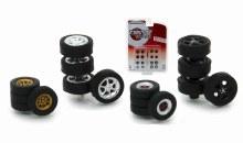 1:64 Scale Tokyo Torque Wheel & Tire Pack - 13163
