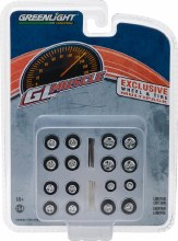 """1:64 Scale Wheel & Tire Multipack """"GL Muscle"""" - 13164"""