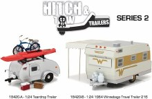1:24 Scale Hitch and Tow Trailers Series 2 Assortment - 18420