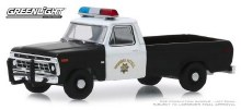 1:64 Scale California Highway Patrol 1975 Ford F-100 - GL30085