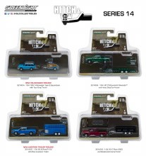 1:64 Scale Hitch & Tow Series 14 Assortment - 32140