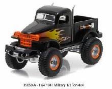 1:64 Scale 1941 Military 1/2 Ton 4x4 - 35050-A