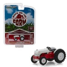 1:64 Scale 1947 Ford 8N Tractor White & Red - 48010-A