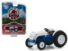 1:64 Scale 1949 Ford 8N Tractor White & Blue - GL48010-B