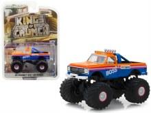 """1:64 Scale 1972 Chevrolet K-10 Monster Truck """"AM/PM Boss"""" - 49030-B"""