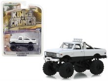 1:64 Scale 1972 Chevrolet K-10 Monster Truck White - GL49030-C
