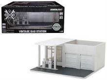 1:64 Scale Vintage Gas Station Plain White - 57014