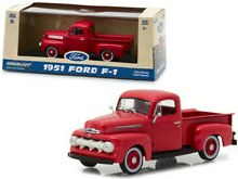 1:43 Scale 1951 Ford F-1 Pickup Truck Coral Flame - 86316