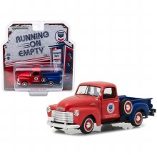 "1:43 Scale 1953 Chevrolet 3100 Pickup Truck ""Standard Oil"" Red & Blue - GL87010-B"