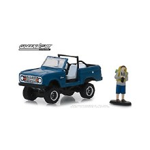 1:64 Scale 1967 Ford Bronco (doors removed) w/Back Packer - GL97060-B