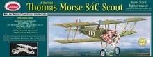 """American Thomas Morse S4C Scout 24"""" Wingspan Balsa Kit - 201LC"""