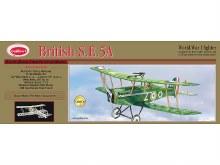"British S.E.5A 24"" Wingspan Balsa Kit - 202LC"