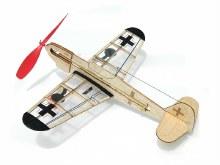 German Fighter Rubber Powered Model Kit - 4501