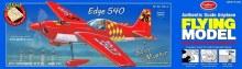 """Edge 540 20-3/16"""" Wingspan Balsa Kit - 703LC"""