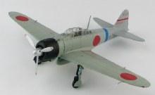 1:48 Scale A6M2 Zero Fighter Type 2 3-112 Lt. Minoru Suzuki 12th Kokutai China 1941 - HA8806